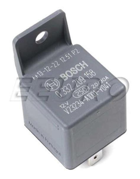 Volvo Relay Fuel Pump Central Lock Bosch