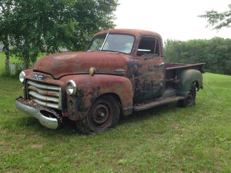 1949 Gmc 34 Ton Pickup Truck Barn Find Patina Ratrod
