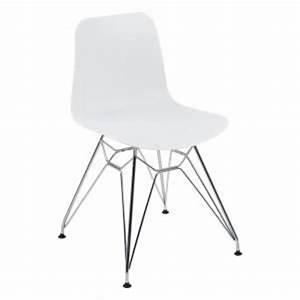 Chaise Design Metal : chaise design 4 ~ Teatrodelosmanantiales.com Idées de Décoration