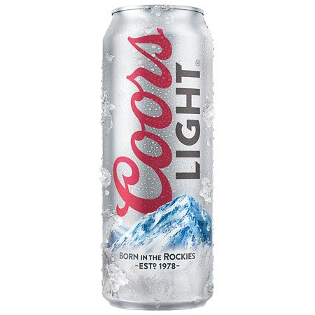 coors light carbs per can coors light beer walgreens