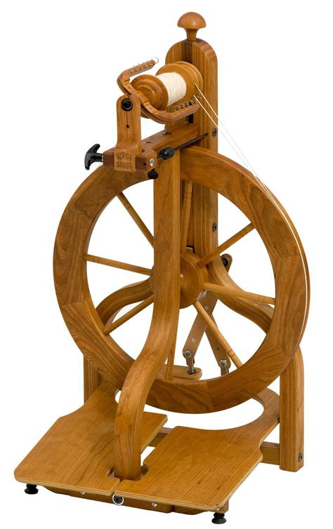 Schacht Matchless Ltd Cherry Spinning Wheel Double Treadle