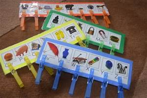 clothespin letter match improve fine motor skills and With clothespin letters