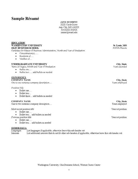 How To Include Language Skills In Resume Sle by How To List Mba On Resume Free Resumes Tips