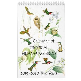 botanical calendars zazzle