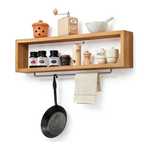 kitchen rack ideas diy wooden kitchen shelf with rail wood shelf hanging