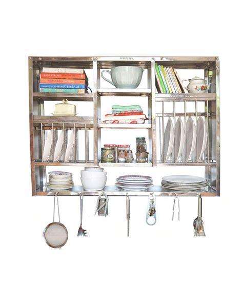 metal kitchen racks metal kitchen buy bharat gloss finish stainless steel kitchen rack 30x42