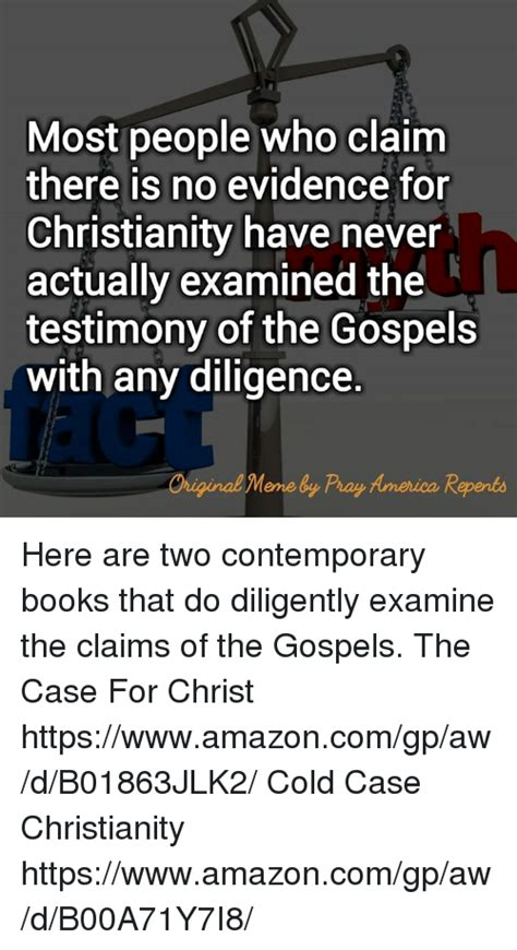 25+ Best Memes About The Case For Christ  The Case For