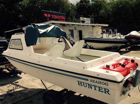 Fishing Boat For Sale London by Seahog Hunter 1992 Cheap Fishing Boat For Sale In Cornwall