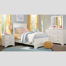Belcourt Jr White 5 Pc Full Panel Bedroom  Teen Bedroom