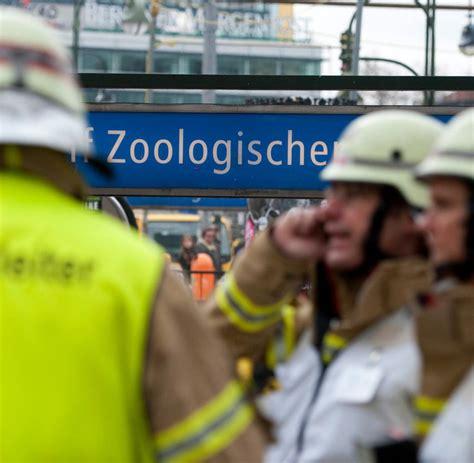Zoologischer Garten Brand by Feuerwehreinsatz Brand In U Bahntunnel Am Berliner U