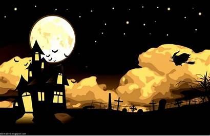 Halloween Pc Wallpapers Backgrounds Desktop Sinaga