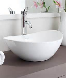 Laufen Bathroom by Buy Hindware Table Top Basin Essence White 91046