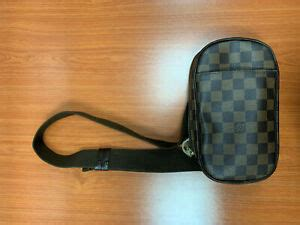 louis vuitton pochette gange  mens shoulder bag monogram ebay