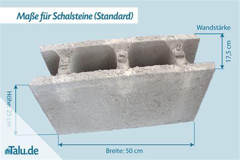 schalsteine aus beton ma 223 e preise schalungssteinen talu de