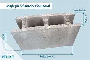 Schalsteine Aus Beton Mae Preise Von Schalungssteinen