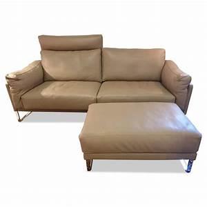 Stühle Grau Leder : sofa rawi lounge leder braun grau kitt mit hocker cor sofas g nstig kaufen m belfirst ~ Watch28wear.com Haus und Dekorationen