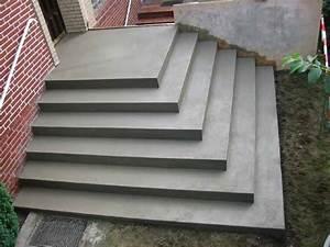 Treppenstufen Außen Beton : stuwe betontreppe treppen rohbau ~ A.2002-acura-tl-radio.info Haus und Dekorationen