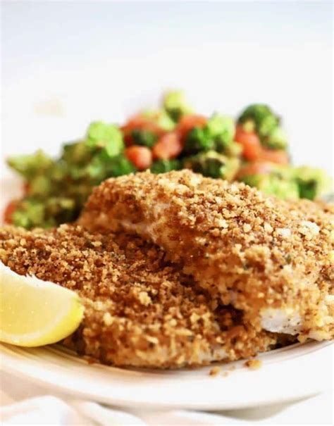 grouper oven baked easy recipe crispy panko fillets recipes coated quick