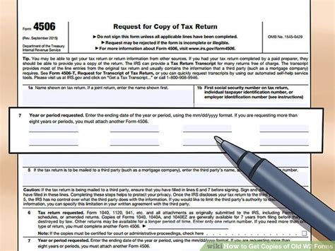 get old tax forms 3 ways to get copies of old w 2 forms wikihow