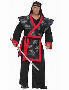 Karneval Kostuem Maenner : samurai xxxl kost m asia schwarz rot samurai kost m china kost m ~ Frokenaadalensverden.com Haus und Dekorationen