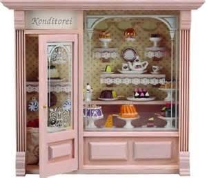 Dollhouse Miniature Bakery Shop
