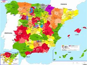 Political Spain Map Pictures