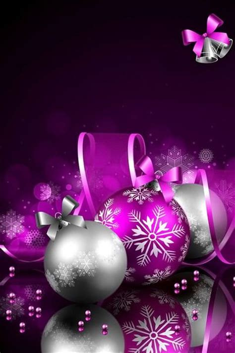 Purple Ornaments Wallpaper by 112 Best A Purple Silver Images On