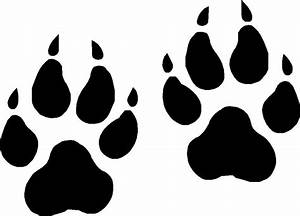 Wolf Paw Prints Vinyl Decals, Stickers Graphics eBay