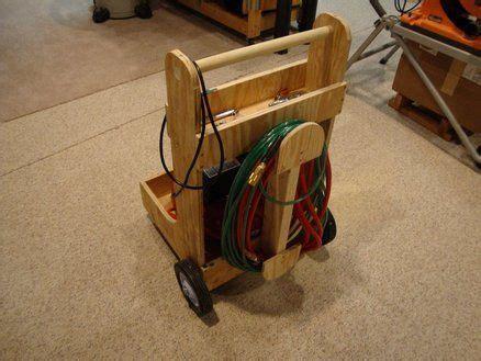 compressor cart garage organization diy air compressor