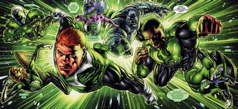 hollyweird living review the dcnu green lantern corps 1