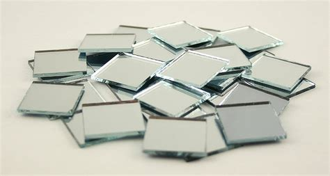 2x2cm small glass square craft mirrors bulk 100 pieces