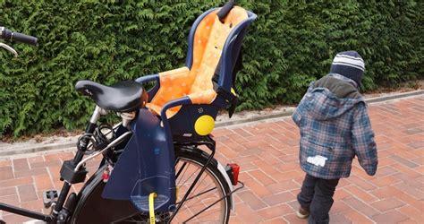 kindersitz fahrrad test kinderfahrradsitz test den richtigen fahrrad kindersitz