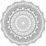 Mandala Crochet Patterns Coloring Visit Colorier Manola Mandalas Sheets Doilies sketch template
