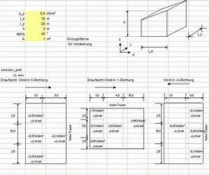 Dachsparren Berechnen Flachdach : formularis windlast auf wand dach nach din en 1991 1 4 ~ Themetempest.com Abrechnung