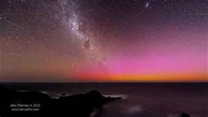 Aurora Southern Lights Melbourne Red Aurora Australis On Vimeo