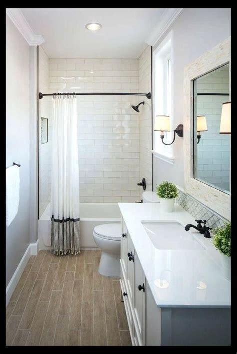 modern small bathroom ideas  tub upstairs guest bath