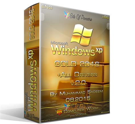 windows xp gold edition sp3 2016 drivers site of paradise