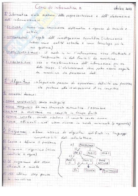 dispensa di informatica linguaggio c appunti di informatica