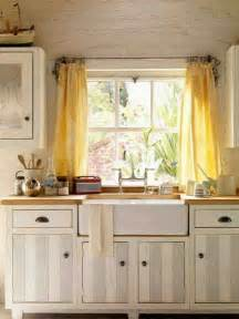 Yellow Kitchen Curtains Window