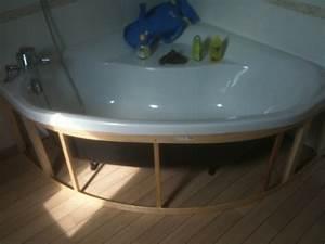 Tablier Pour Baignoire : comment habiller une baignoire d 39 angle 35 messages ~ Premium-room.com Idées de Décoration