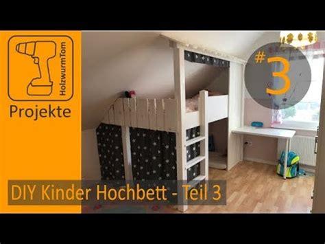bücherregal kinderzimmer selber bauen diy projekt kinderzimmer hochbett bauen teil 3 3 build a bunkbed part 3 3