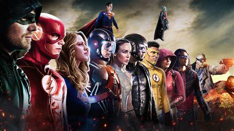 wallpaper dc superheroes dc comics dc tv crossover