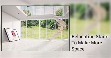 how to create more space in your home how can relocating staircase locations create more space avonlea renovations blog
