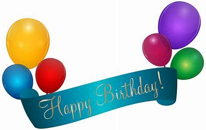 Birthday Banner Happy Transparent Clip Clipart Poster