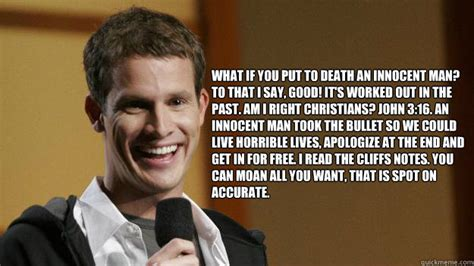 Tosh 0 Meme - this may sound weird but i would fuck that baby daniel tosh quickmeme