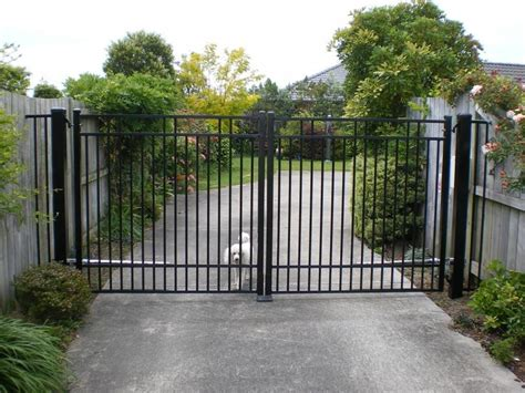residential fences and gates residential gates and fences pw automatic security gates nz ltd