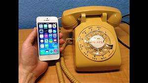 Voice Quality - Iphone 5 Vs Antique Rotary Phone