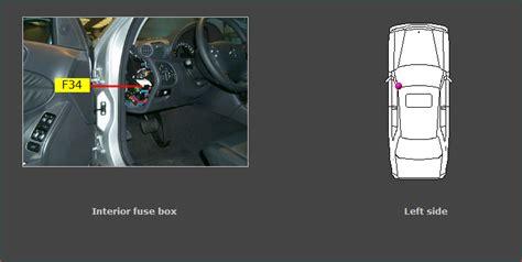 2008 Mercede 230 Fuse Box by C230 Radio Fuse Wiring Diagram