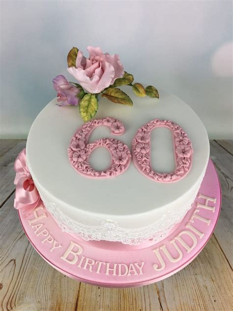 Time is a big constraint sometimes. Pink Roses 60th Birthday Cake - Mel's Amazing Cakes