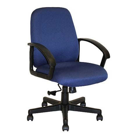 office master bc86 economy leather chair mid back